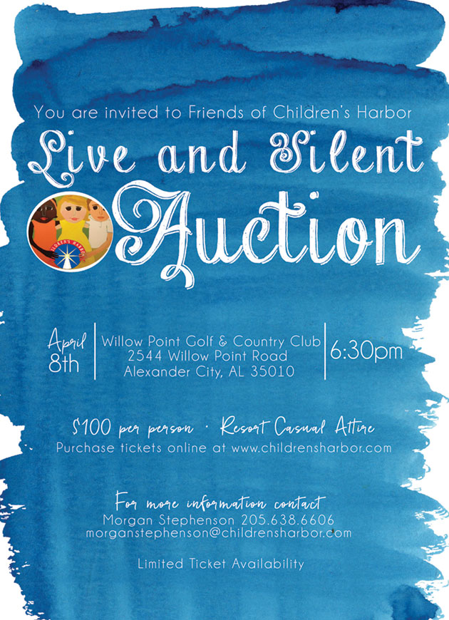 friends of childrens harbor live and silent auction
