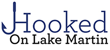hooked on lake martin LOGO