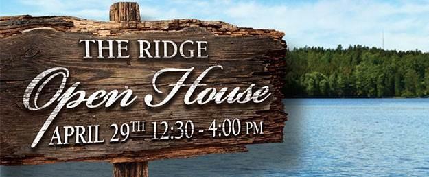 THE RIDGE OPEN HOUSE