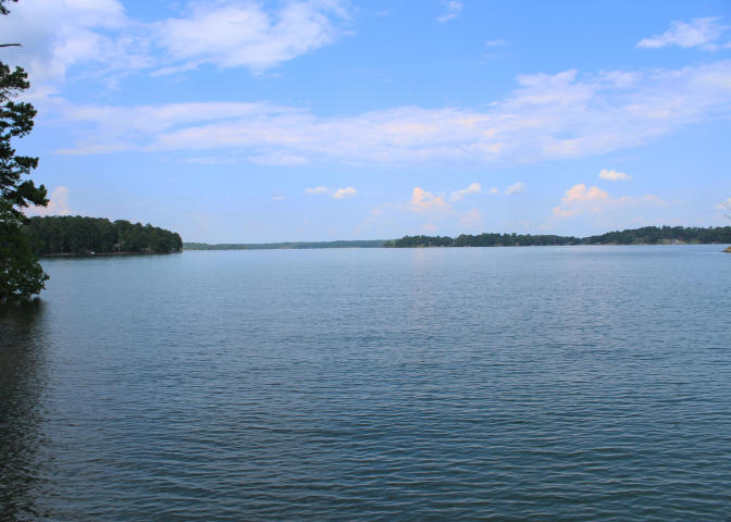 view from woodland lake home on lake martin