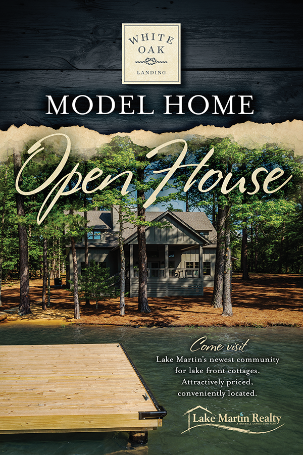 white oak landing model home