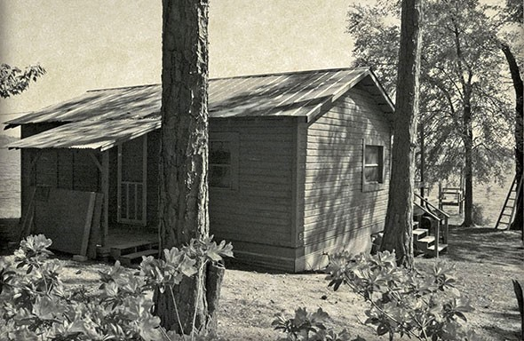 old russell cabin